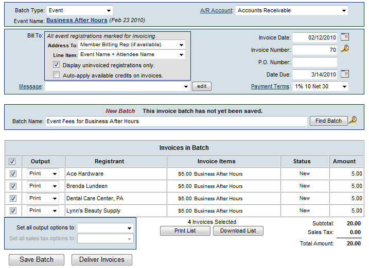 Events-Create Event Invoices using integrated Billing m-image80.png